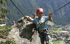 Climbing areas and Vie Ferrate in Zillertal